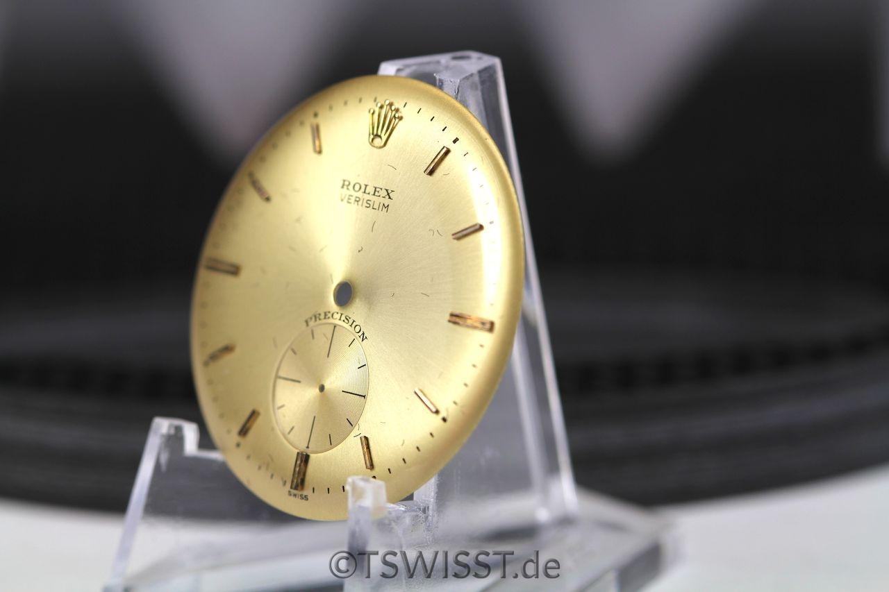 Rolex Verislim dial