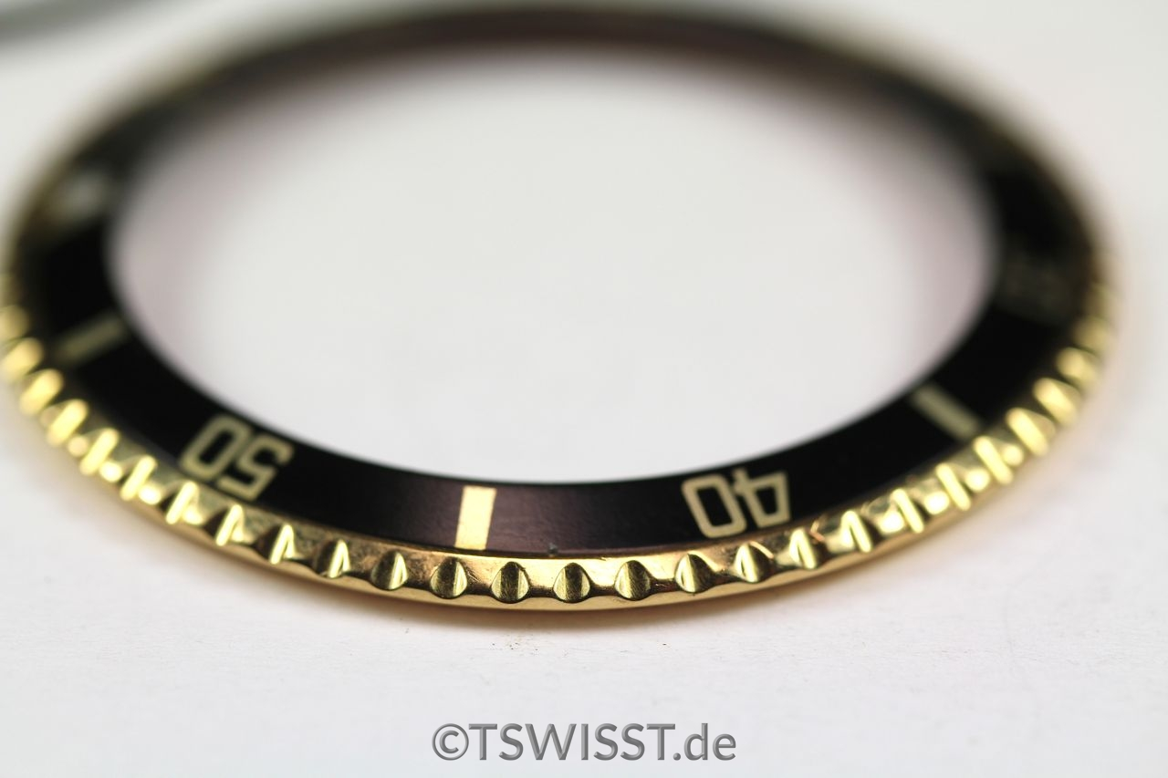 Rolex 1680 bezel and inlay yellow gold