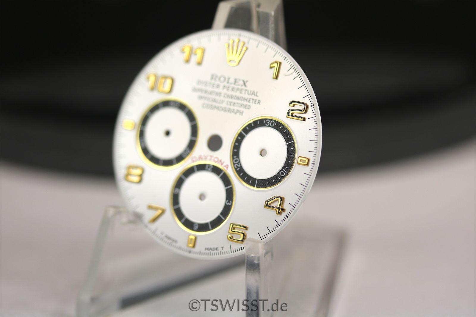 Rolex Daytona dial white arab 16518 16528