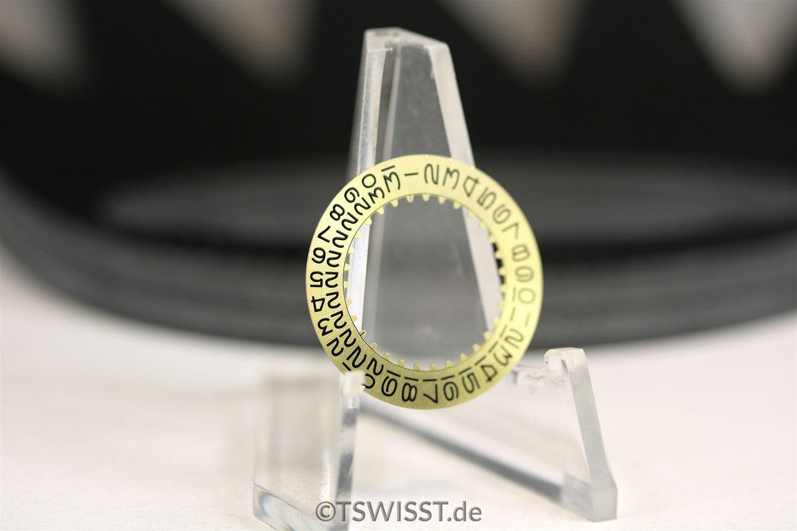 Rolex date disk gold 1680