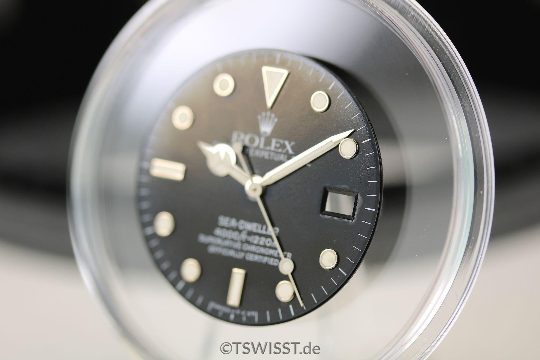 Rolex Seadweller dial&hands