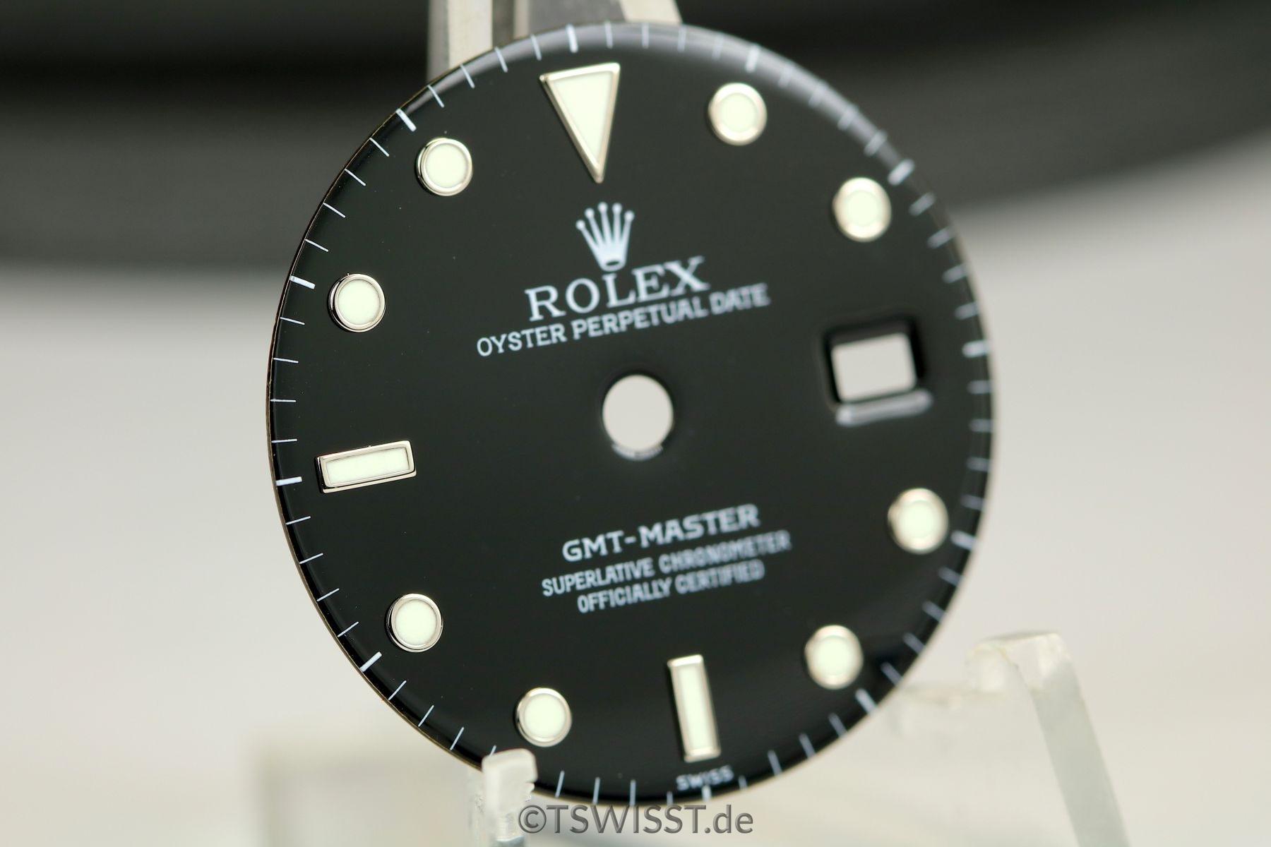 Rolex GMT dial