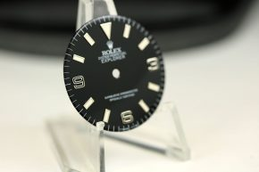 Rolex Explorer blackout dial