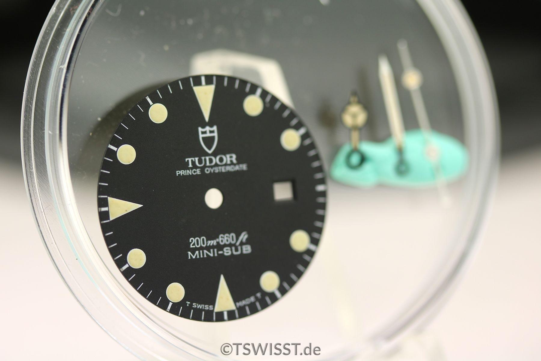 Tudor Mini-Sub dial&hands