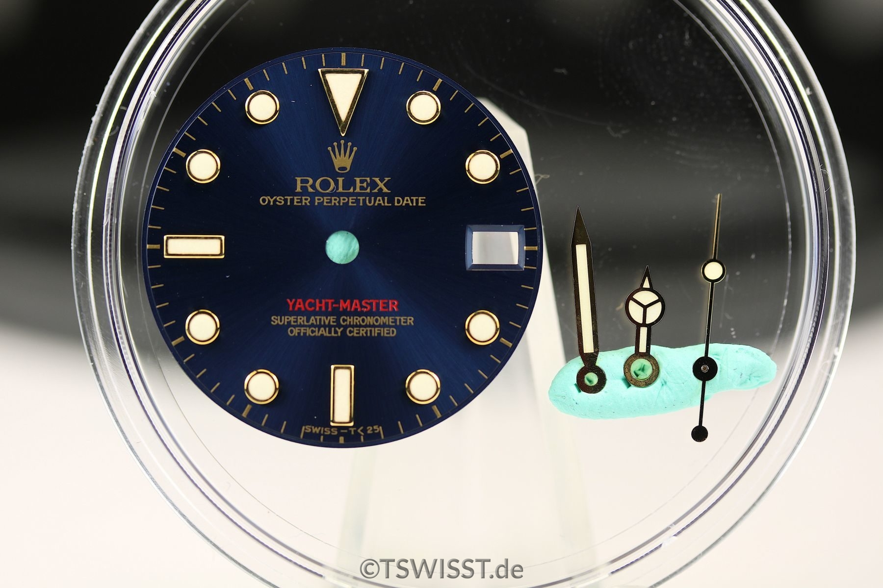 Rolex Yachtmaster dial&hands