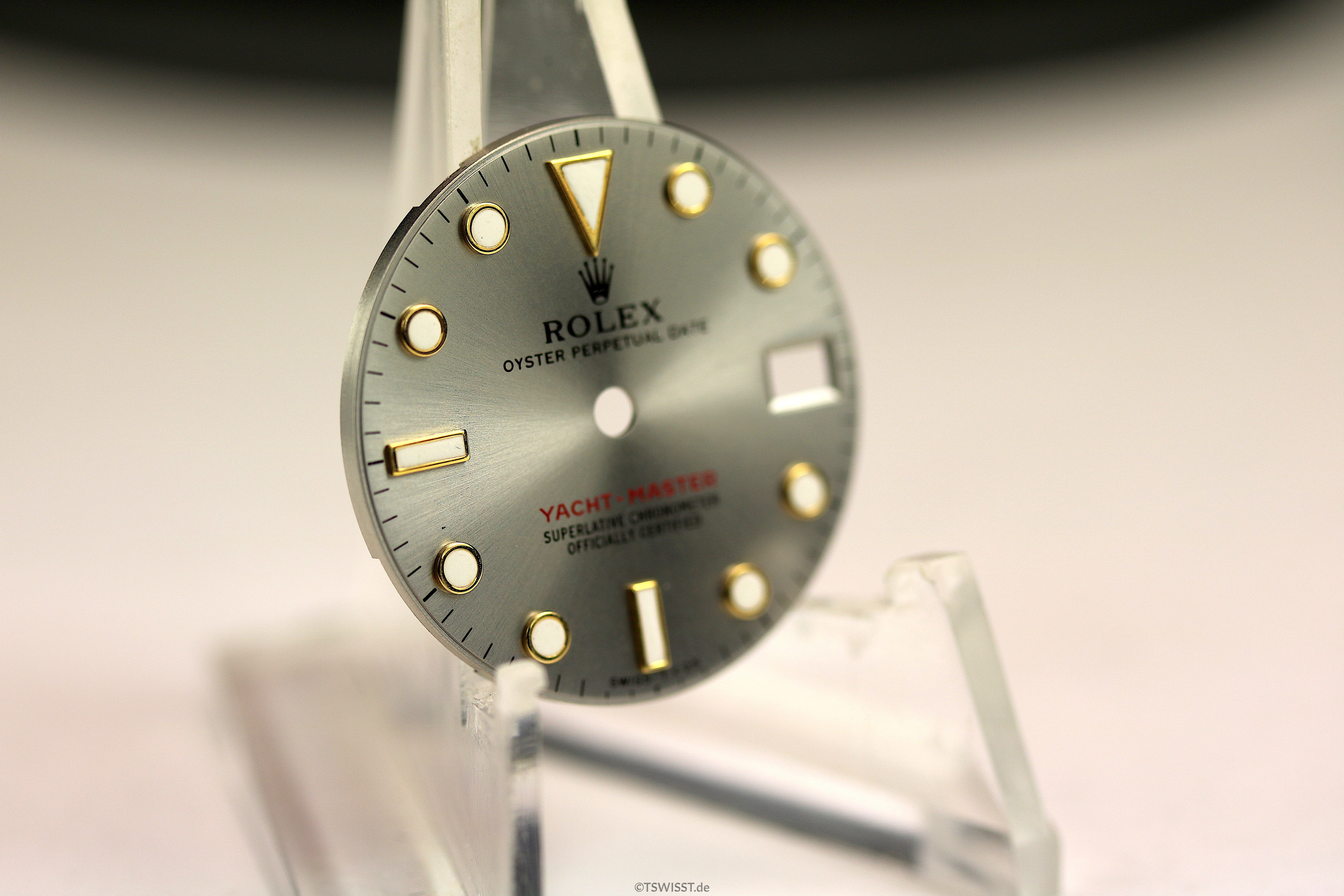 Rolex lady yacht master dial