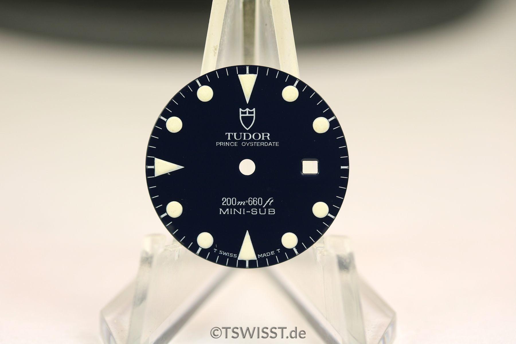 Tudor Mini Sub dial
