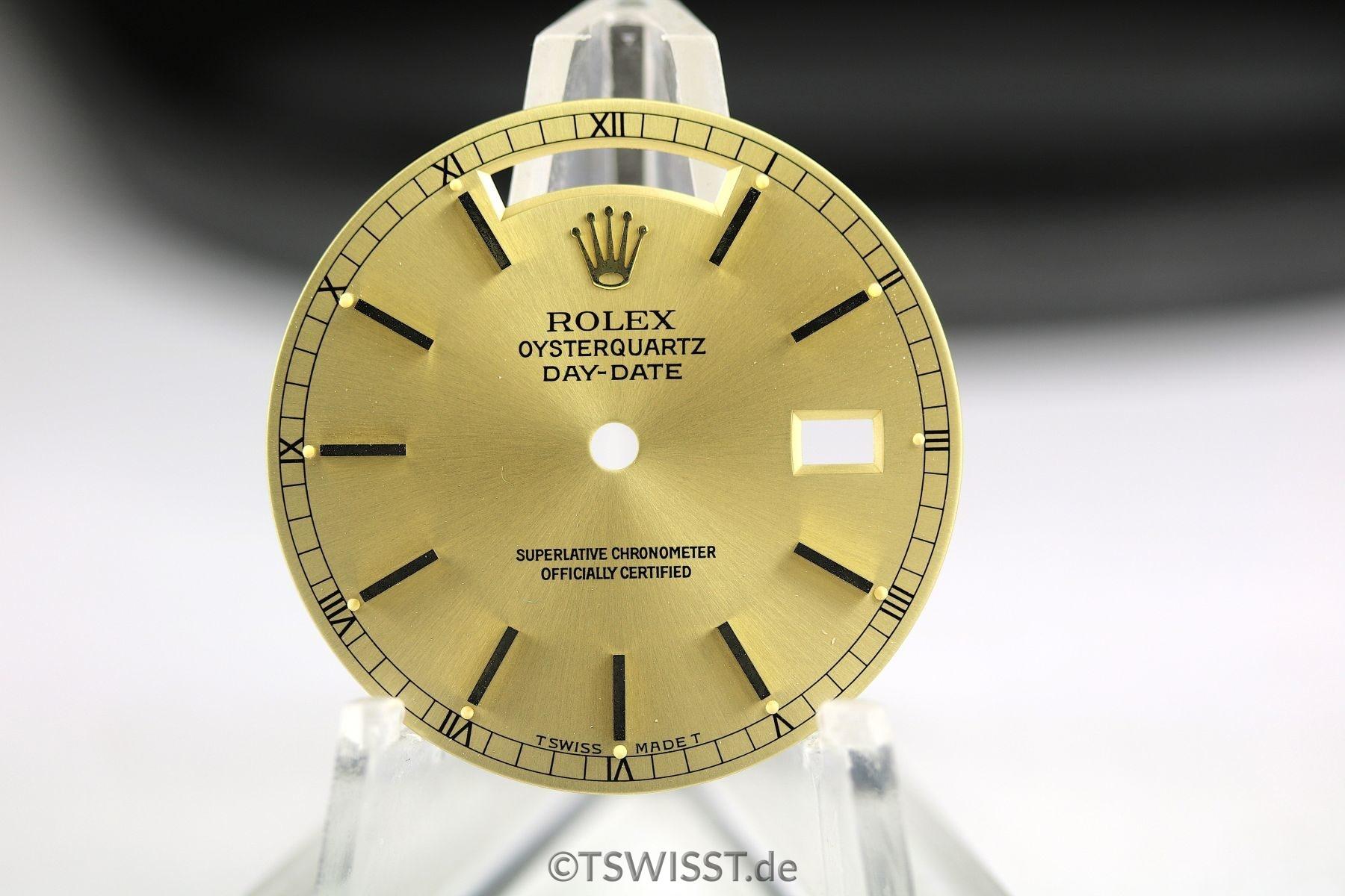Rolex Daydate Oysterquartz dial
