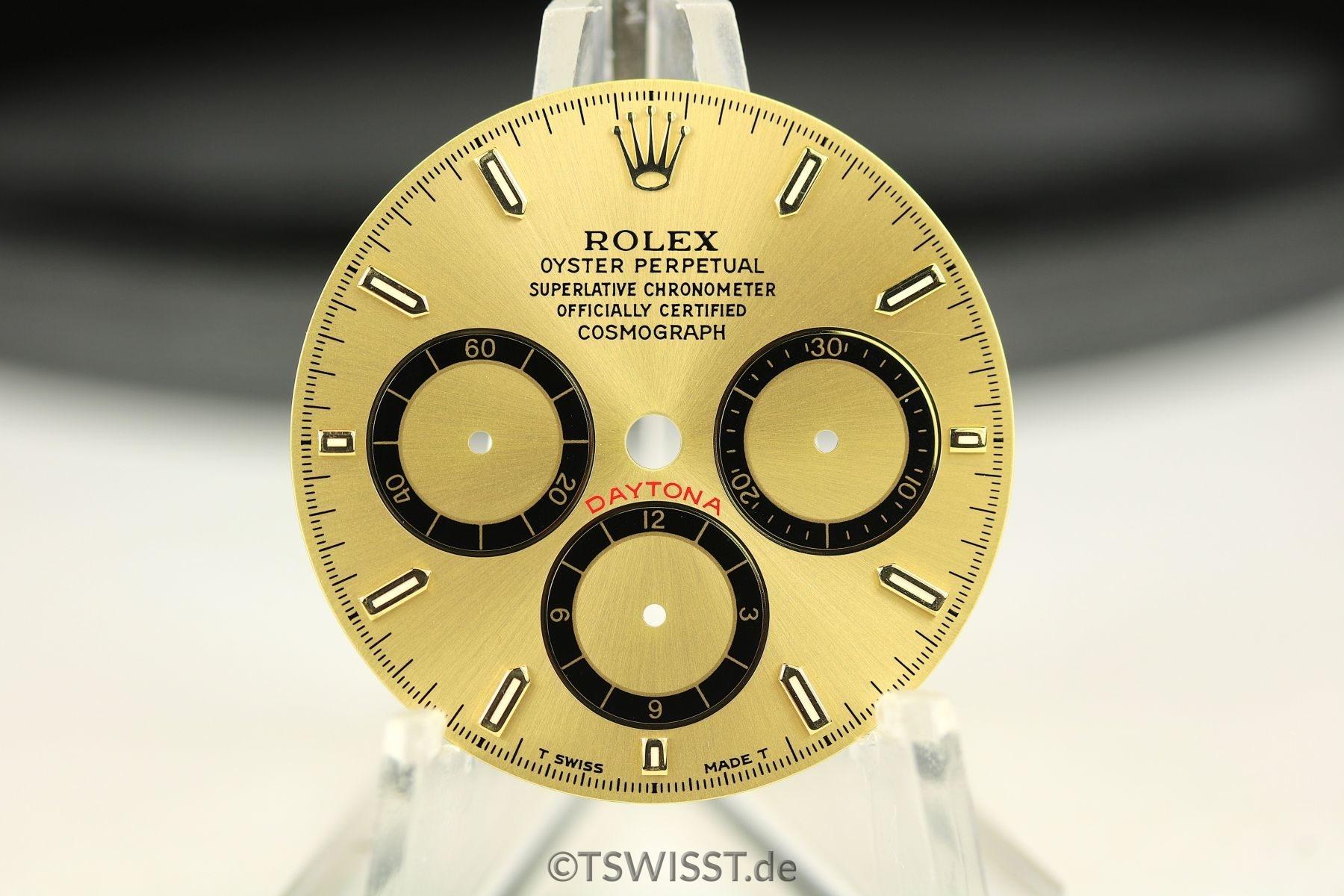 Rolex Daytona 16523/16528 dial