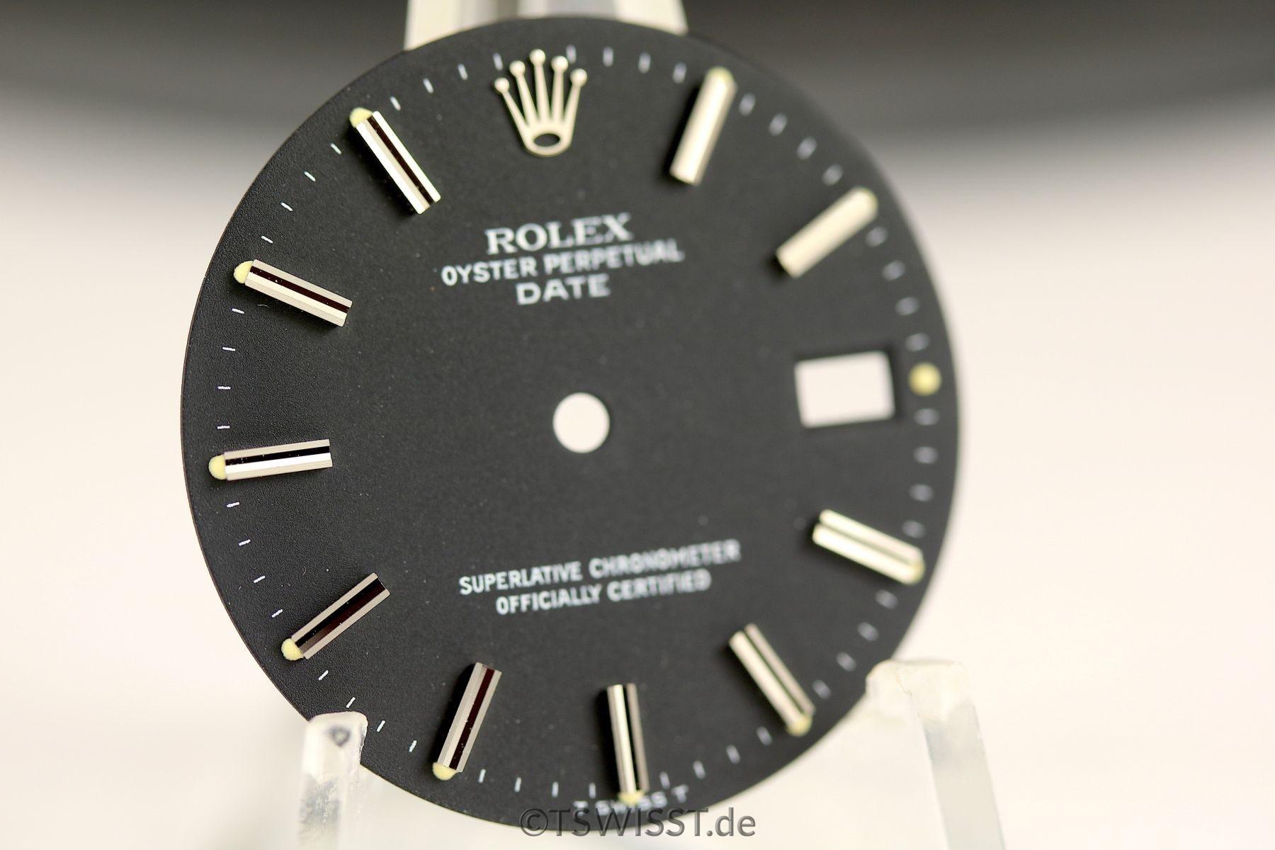 OP Date black matte dial NOS