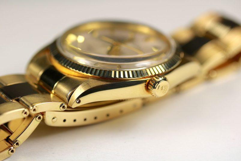 Rolex 1005 gold Sigma
