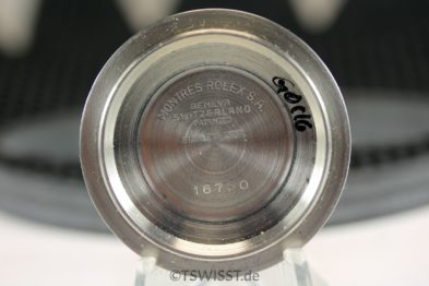 Rolex caseback GMT 16750