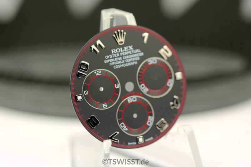 Rolex Black arab daytona dial