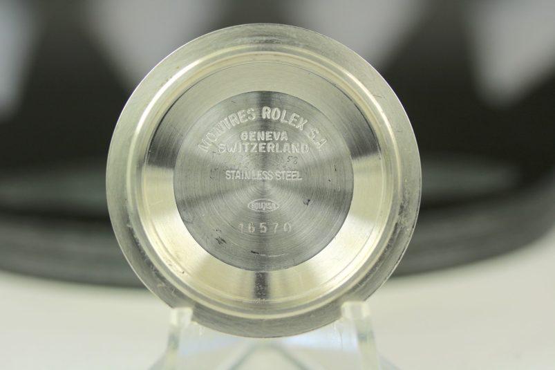 Rolex Case back 16570
