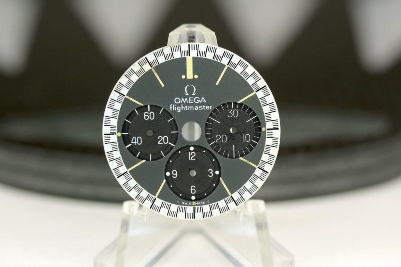 Omega Flightmaster dial & hands