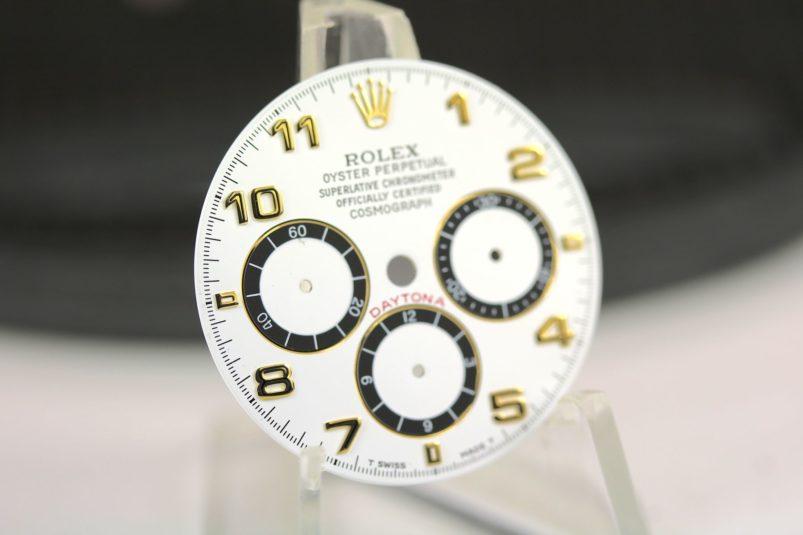 Rolex Zenith 16523 dial