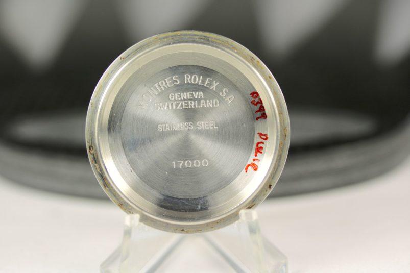 Rolex 17000 case back