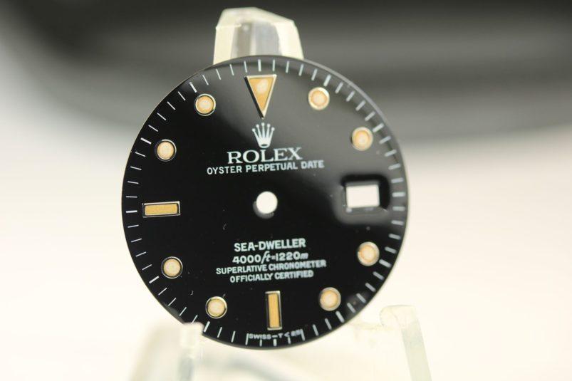 Rolex Sea-Dweller 16600 dial