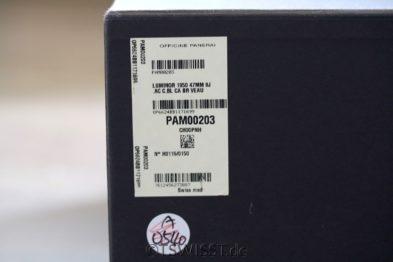PAM 203 full set