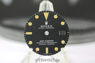Rolex GMT 1675 MKII dial