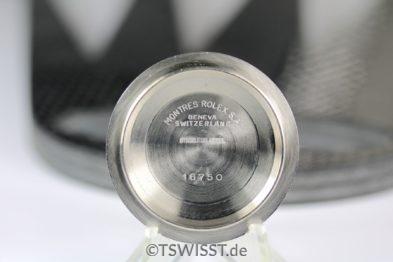 Rolex Caseback GMT 1675