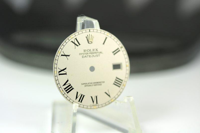 Rolex grey Buckley dial