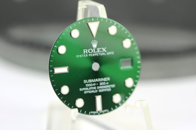Rolex 116610LV dial