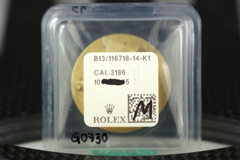 rolex 116718 blue dial