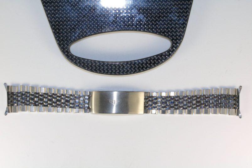 Heuer 20 mm jubilee bracelet