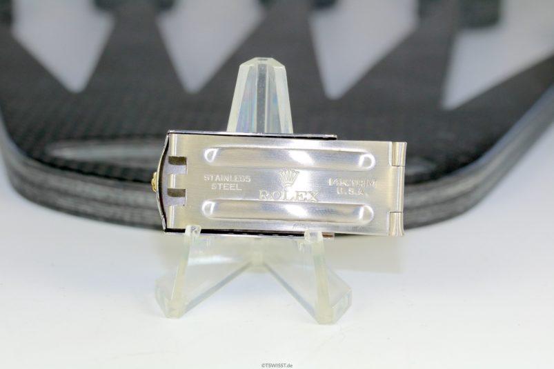 Rolex 14k steel clasp