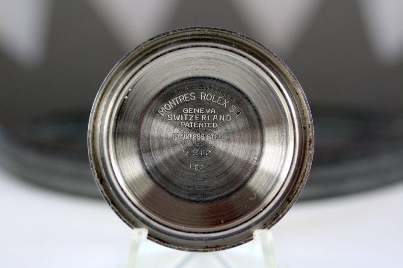 Rolex 5512 caseback