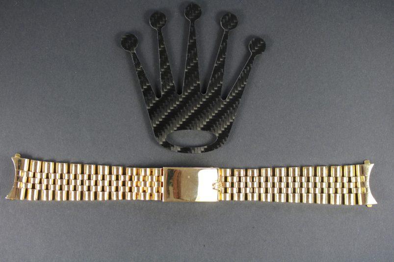 Rolex gold jubilee bracelet