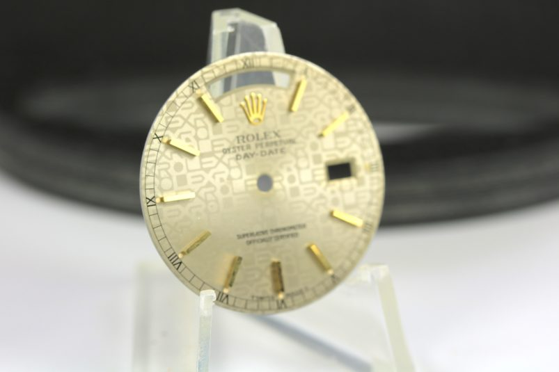 Rolex Jubilee day date dial