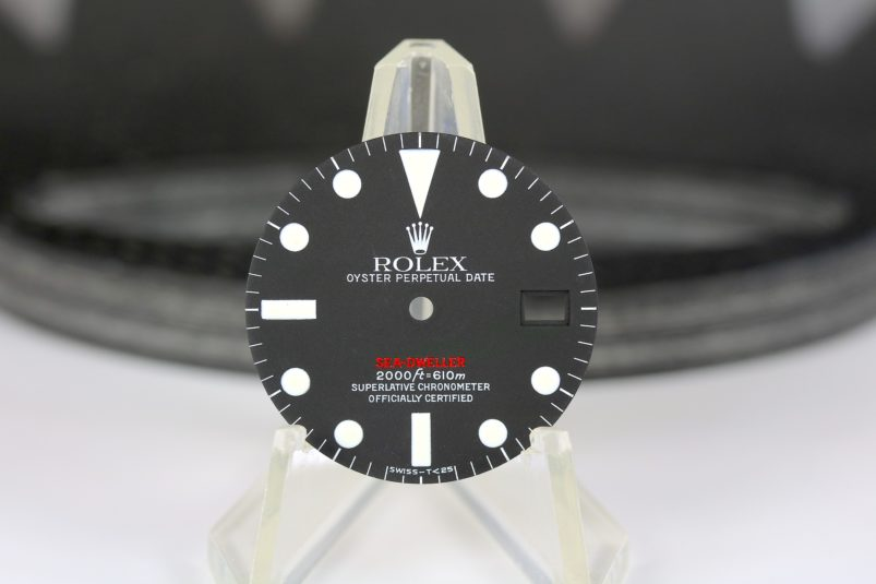 Rolex Single red 1665 dial