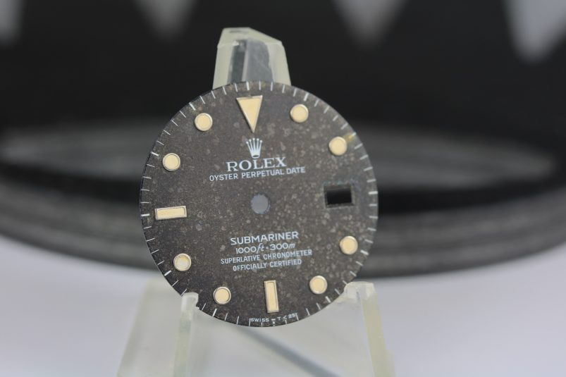 rolex brown tropical 16610 16800 dial