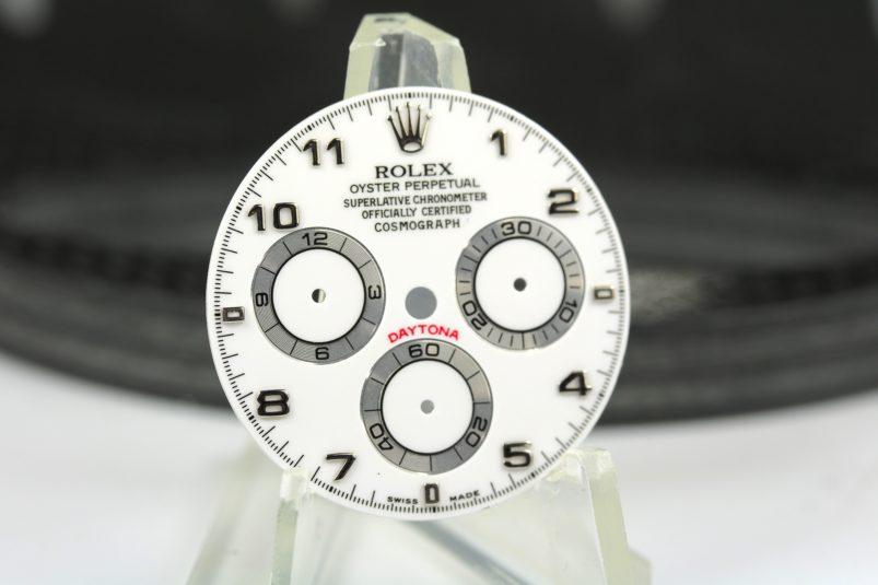 Rolex 116509 white arab dial
