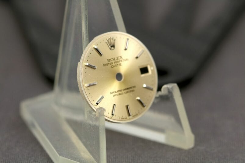 Rolex OP Date 26 mm dial